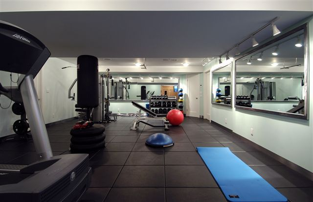 Gym design custom home or commercial gyms